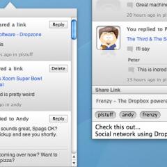 Frenzy, e Dropbox diventa un social network