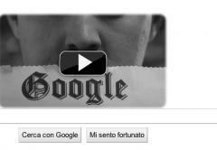 Google omaggia Chaplin con un video al posto del logo