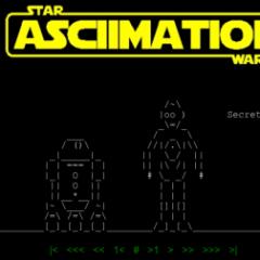 Curiosità: Star Wars in ASCII