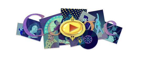 freddy mercury google doodle