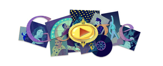 Freddy Mercury Doodle google