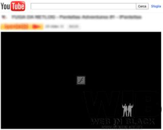 un esempio del risultato sulla pagina di youtube
