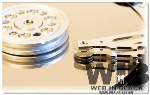 l'interno di un hard disk