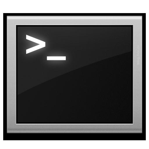 l'icona del terminale
