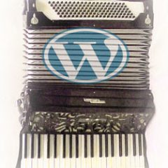 Un accordion menu  per WordPress