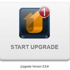 Joomla! migrare alla versione 2.5 con jUpdater