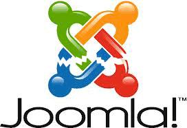 una elaborazione grafica del logo di joomla