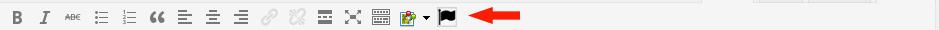 l'icona nell'editor
