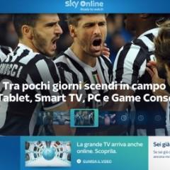 Arriva Sky Online: film ed eventi sportivi on-demand