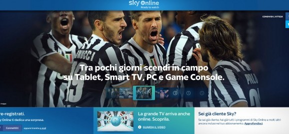 Arriva Sky Online: film ed eventi sportivi on-demand