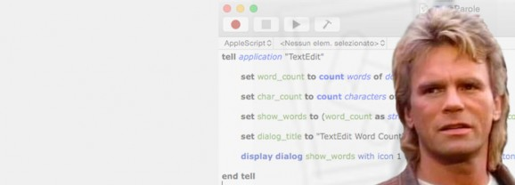 Aggiungere il conteggio parole a TextEdit
