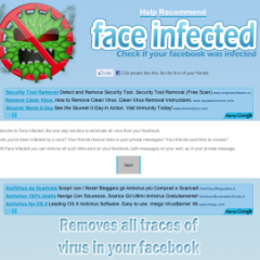 Malware su Facebook? Ci pensa Face Infected