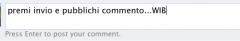 Facebook cambia la modalità di invio commenti