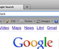 InstantFox aggiunge la ricerca nella barra indirizzi di Firefox