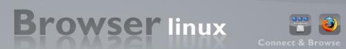 """Browser Linux…una distro sempre più mini e """"web oriented"""""""