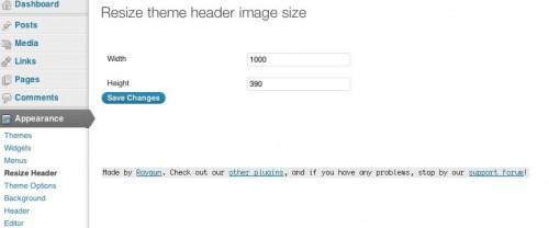 la schermata delle impostazioni del plugin
