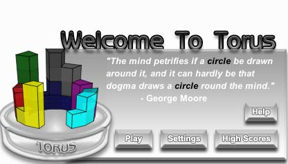 una schermata dal gioco torus