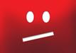 la faccina che accompagna il messaggio di violazione copyright su youtube