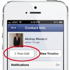 Facebook abilita le chiamate gratis anche in Italia