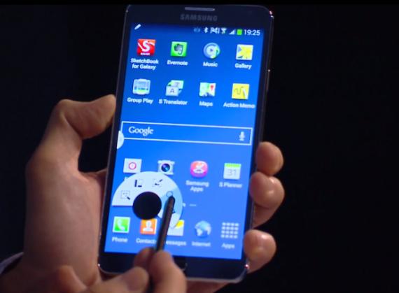 Samsung presenta il Note 3