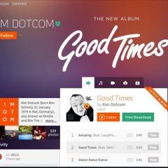 Baboom: il nuovo servizio musicale di Kim Dotcom