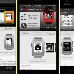 Pebble lancia il suo store con oltre 1000 apps