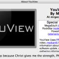logo e crediti di youview