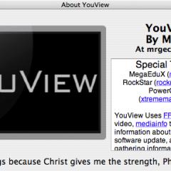 Youtube sui vecchi su Mac  con Youview