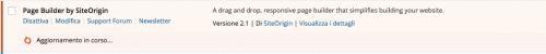 WP 4.2 aggiornamento plugin senza cambiare pagina