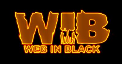 effetto fuoco applicato al logo di WebInBlack