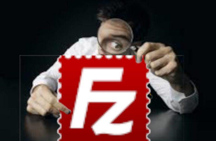 export dati siti filezilla